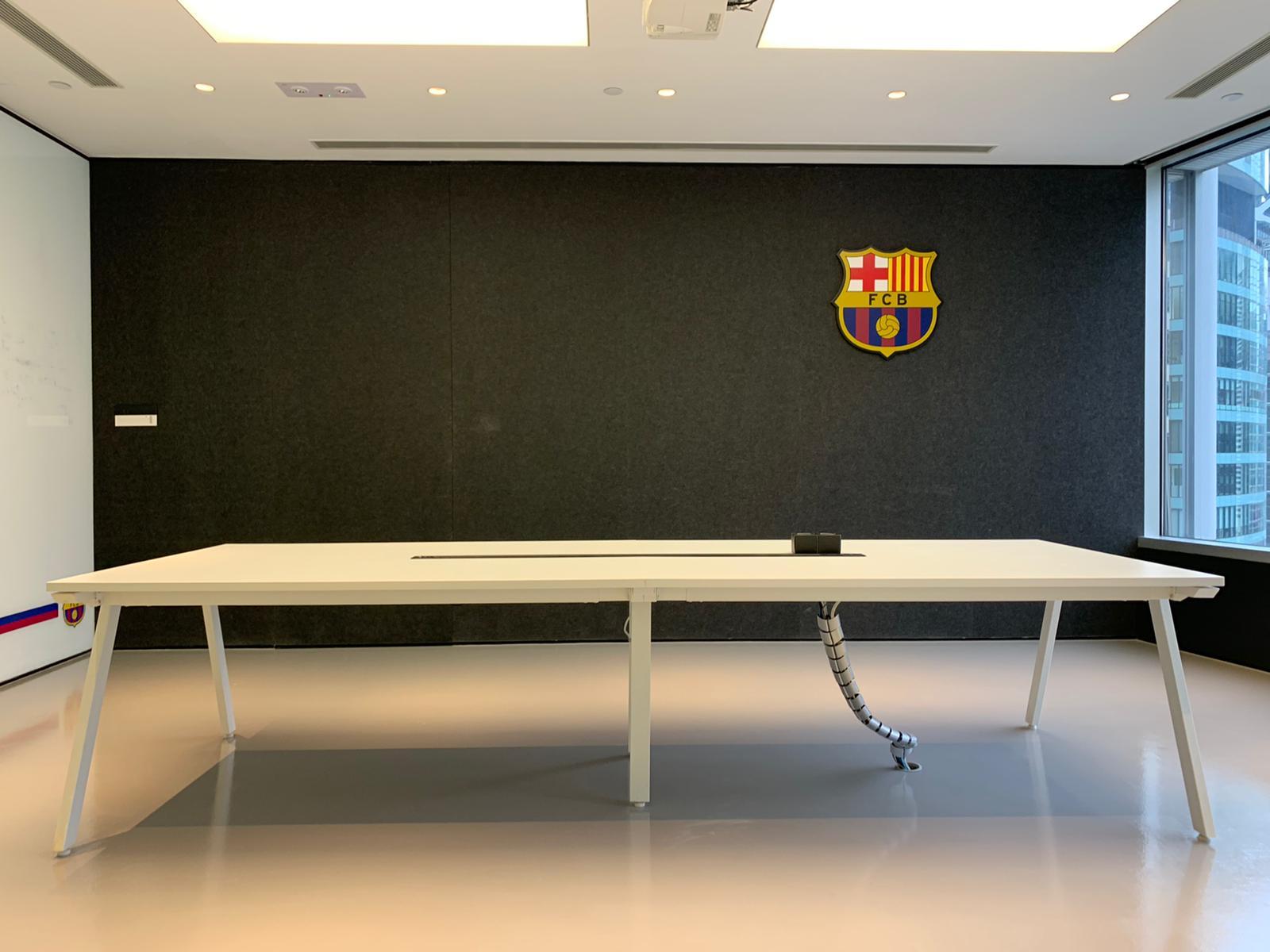 Football club barcelona office renovation hong kong